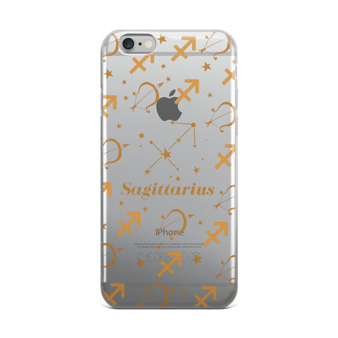 Horoscope Zodiac - Sagittarius - TPU iPhone Case - Cinderbloq Cases & Accessories