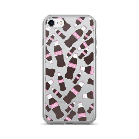 Cola Heaven Transparent - iPhone 7 - Cinderbloq Cases & Accessories