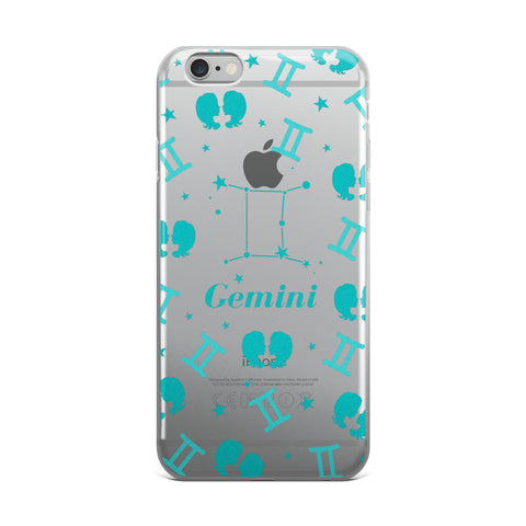 Horoscope Zodiac - Gemini - TPU iPhone 6 Plus / 6s Plus Case - Cinderbloq Cases & Accessories