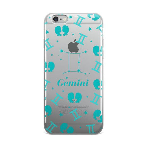 Horoscope Zodiac - Gemini - TPU iPhone 6/6s Case - Cinderbloq Cases & Accessories