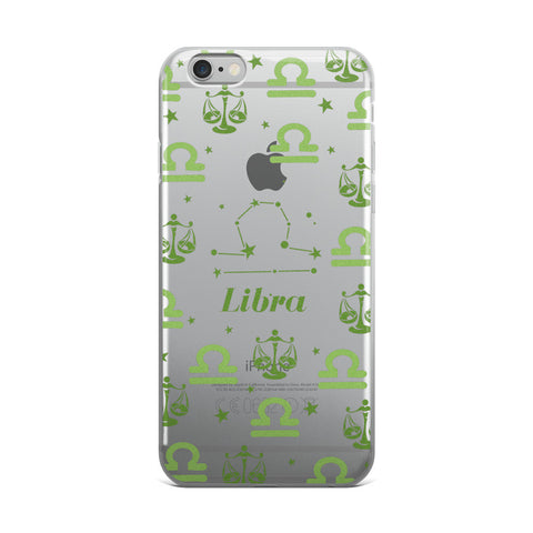 Horoscope Zodiac - Libra - TPU iPhone 6 Plus / 6s Plus Case - Cinderbloq Cases & Accessories