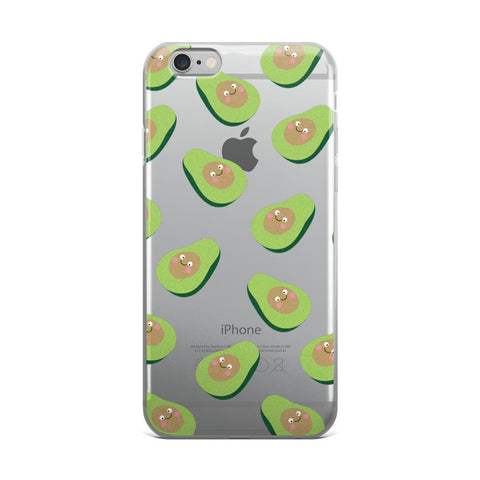 Silly Avocado TPU iPhone 6 Plus / 6s Plus Case - Cinderbloq Cases & Accessories