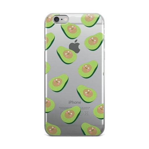 Silly Avocado TPU iPhone 6/6s Case - Cinderbloq Cases & Accessories
