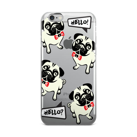 Hello Frenchie TPU iPhone 6 Plus / 6s Plus Case - Cinderbloq Cases & Accessories