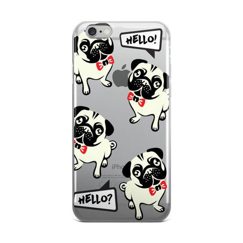 Hello Frenchie TPU iPhone 6/6s Case - Cinderbloq Cases & Accessories