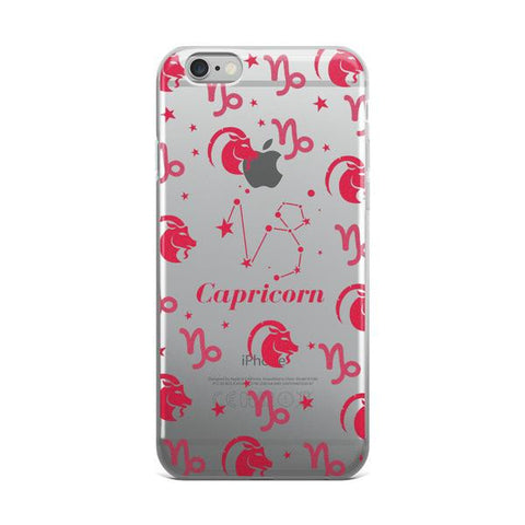 Horoscope Zodiac - Capricorn - TPU iPhone 6/6s Case - Cinderbloq Cases & Accessories