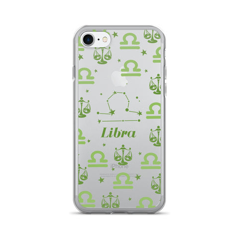 Horoscope Zodiac - Libra - TPU iPhone 7 Case - Cinderbloq Cases & Accessories