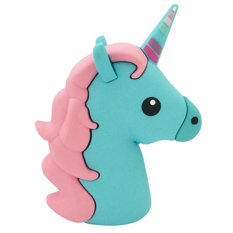 Majestic Unicorn Emoji Powerbank charger for iOS & Android (Blue) - Cinderbloq Cases & Accessories