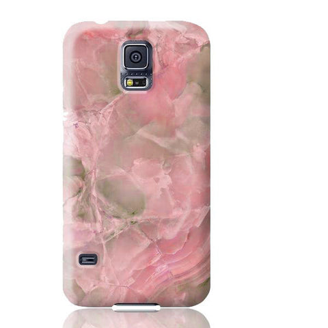 Pink Jade Marble Phone Case - Samsung Galaxy S5