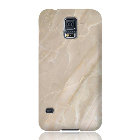 Beige Stone Marble Phone Case - Samsung Galaxy S5 - CinderBloq Cases & Accessories