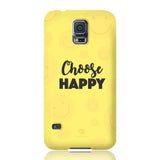 Choose Happy Phone Case - Samsung Galaxy S5 - CinderBloq Cases & Accessories