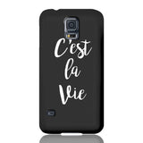 C'est La Vie Phone Case - Samsung Galaxy S5 - CinderBloq Cases & Accessories
