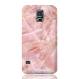 Rose Quartz Marble Phone Case - Samsung Galaxy S5
