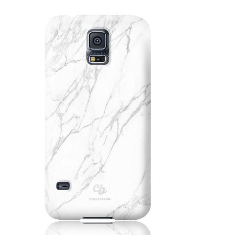 White Stone Marble Phone cases - Samsung Galaxy S5