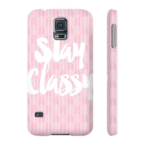 Stay Classy Phone Case - Samsung Galaxy S5 - CinderBloq Cases & Accessories