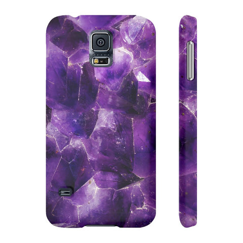 Amethyst Stone Phone Case - Samsung Galaxy S5 - CinderBloq Cases & Accessories
