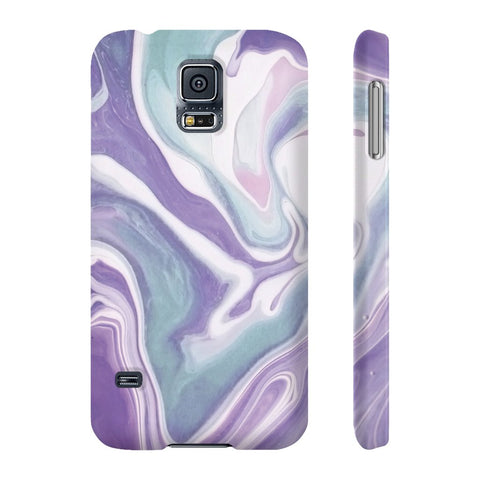 Lavender Marble Phone Case - Samsung Galaxy S5 - CinderBloq Cases & Accessories