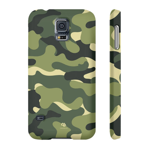 Green Camo Phone Case - Samsung Galaxy S5