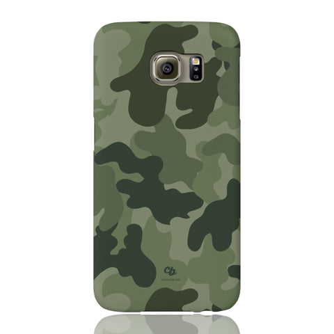 Army Green Camo Phone Case - Samsung Galaxy S6 - CinderBloq Cases & Accessories