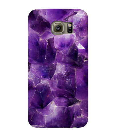 Amethyst Stone Phone Case - Samsung Galaxy S6 - CinderBloq Cases & Accessories