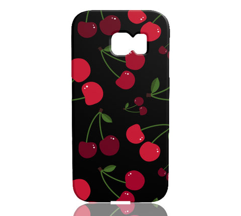 Black Cherry Phone Case - Samsung Galaxy S6 Edge - CinderBloq Cases & Accessories