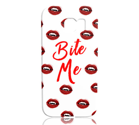 Bite Me Phone Case - Samsung Galaxy S6 Edge - CinderBloq Cases & Accessories