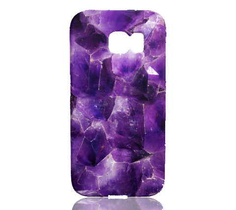 Amethyst Stone Phone Case - Samsung Galaxy S6 Edge - Cinderbloq Cases & Accessories