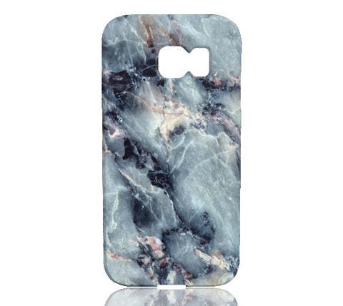 Blue Pearl Marble Phone Case - Samsung Galaxy S6 Edge - CinderBloq Cases & Accessories