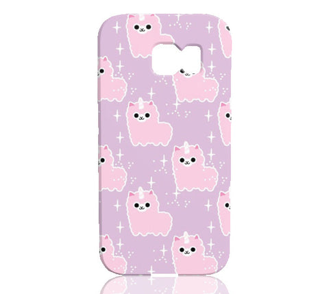 Majestic Llamacorn Phone Case - Samsung Galaxy S6 Edge - Cinderbloq Cases & Accessories