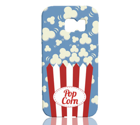Popcorn Phone Case - Samsung Galaxy S6 Edge - Cinderbloq Cases & Accessories