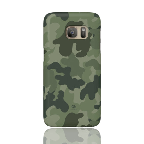 Army Green Camo Phone Case - Samsung Galaxy S7 - CinderBloq Cases & Accessories