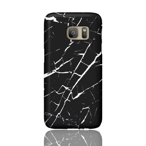 Black and White Marble Phone Case - Samsung Galaxy S7 - CinderBloq Cases & Accessories