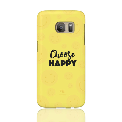 Choose Happy Phone Case - Samsung Galaxy S7 - CinderBloq Cases & Accessories