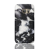 Black & White Cloud Marble Phone Case - Samsung Galaxy S7 - CinderBloq Cases & Accessories