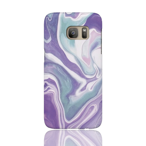 Lavender Marble Phone Case - Samsung Galaxy S7 - CinderBloq Cases & Accessories