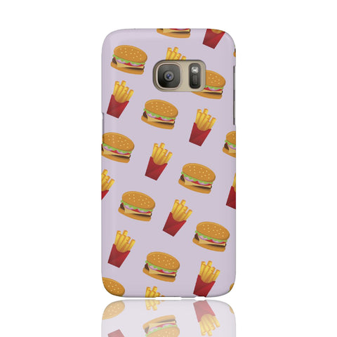 Burger Fries Phone Case - Samsung Galaxy S7 - CinderBloq Cases & Accessories