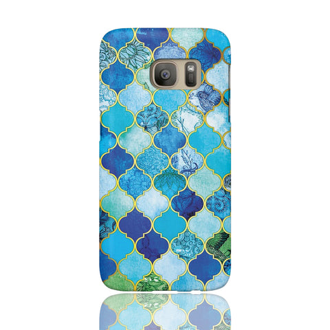 Moroccan Tile Print Phone Case - Samsung Galaxy S7 - CinderBloq Cases & Accessories
