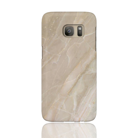 Beige Stone Marble Phone Case - Samsung Galaxy S7 - CinderBloq Cases & Accessories