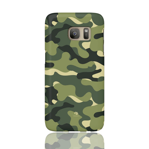 Green Camo Phone Case - Samsung Galaxy S7 - CinderBloq Cases & Accessories