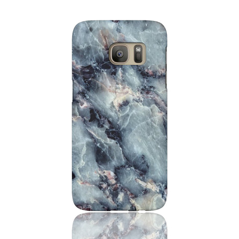 Blue Pearl Marble Phone Case - Samsung Galaxy S7 - CinderBloq Cases & Accessories