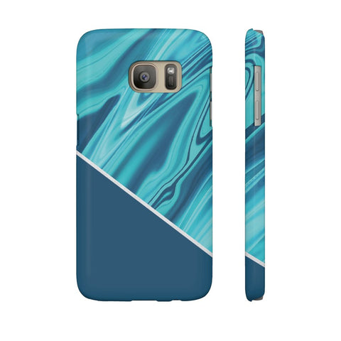 Ocean Blue Marble Phone Case - Samsung Galaxy S7 - CinderBloq Cases & Accessories