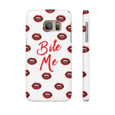 Bite Me Phone Case - Samsung Galaxy S7 - CinderBloq Cases & Accessories