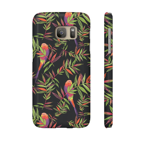 Tropical Parrot Phone Case - Samsung Galaxy S7 - CinderBloq Cases & Accessories