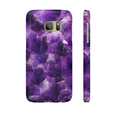 Amethyst Stone Phone Case - Samsung Galaxy S7 - CinderBloq Cases & Accessories