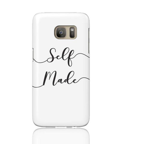 Self Made (White) Phone Case - Samsung Galaxy S7 - Cinderbloq Cases & Accessories