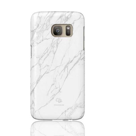 White Stone Marble Phone cases - Samsung Galaxy S7