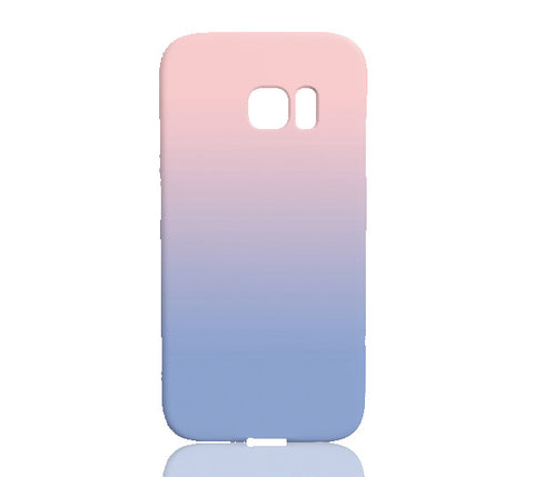 Pantone® 2016 Color of the Year Rose Quartz & Serenity Ombre Phone Case - Samsung Galaxy S7 Edge - Cinderbloq Cases & Accessories