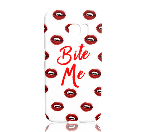 Bite Me Phone Case - Samsung Galaxy S7 Edge - CinderBloq Cases & Accessories