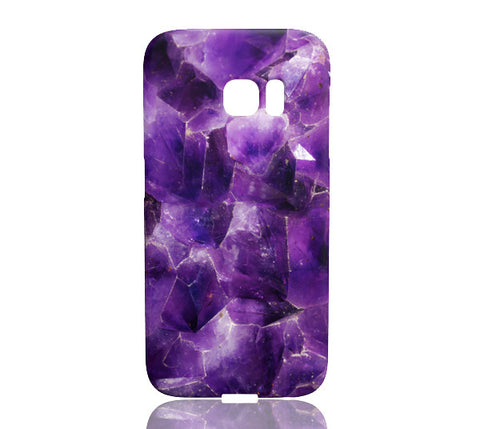 Amethyst Stone Phone Case - Samsung Galaxy S7 Edge - Cinderbloq Cases & Accessories