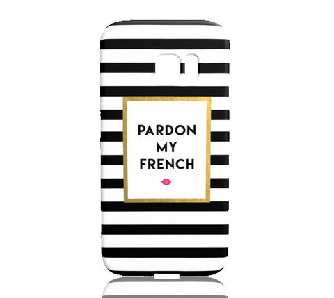 Pardon My French Phone Case - Samsung Galaxy S7 Edge - Cinderbloq Cases & Accessories